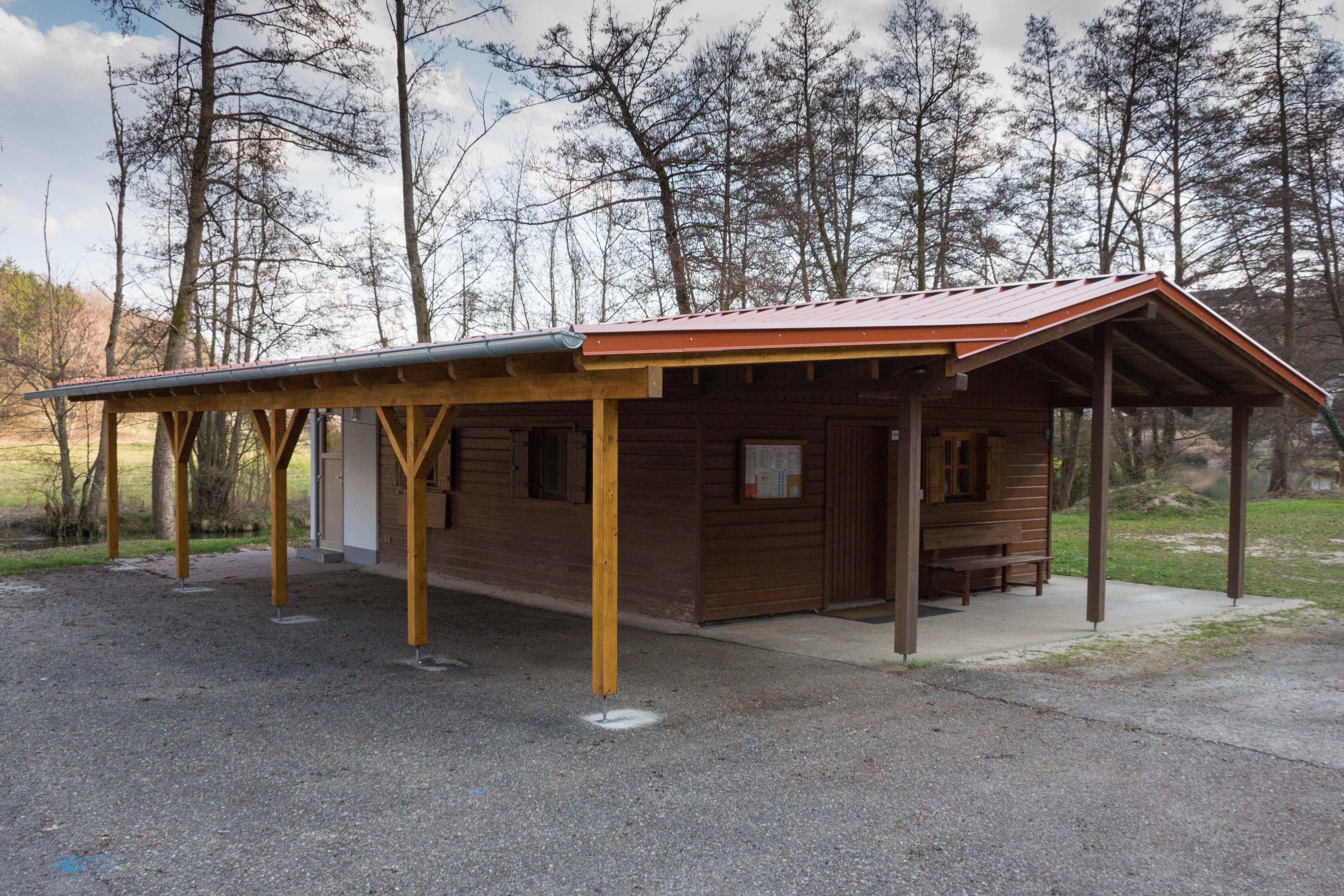 Sommerblockhütte
