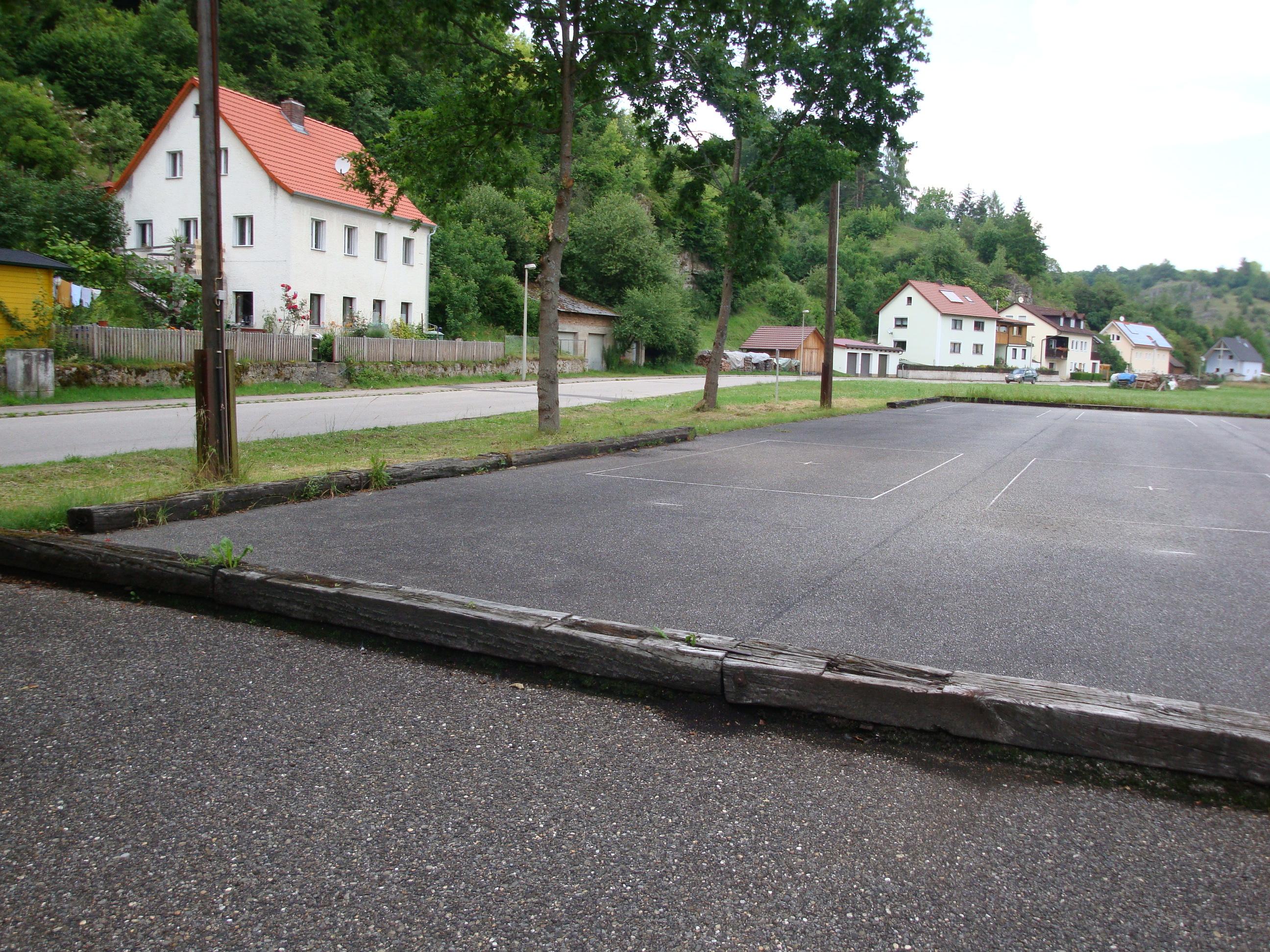 Alte Pflasterbahnen